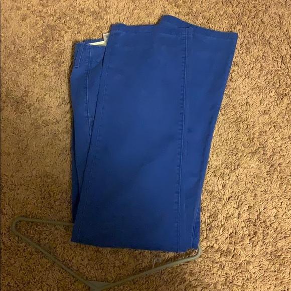 Blue Levi Jeans size 34. Denim blue Jeans Size 36.